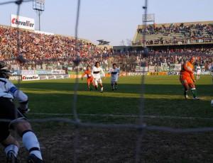Un hincha del fútbol